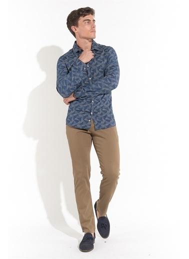 Z Giyim Uzun Kollu Slimfit Gömlek Renkli
